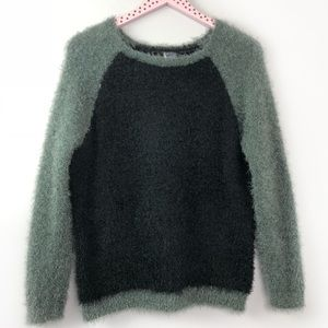 Urban Outfitters Sparkle Fade Eyelash Sweater